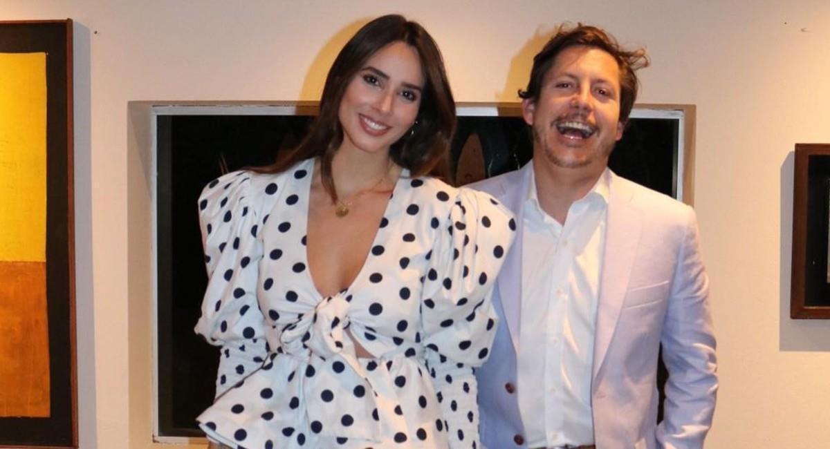 María Manos dejó en evidencia lo inflamado que tiene su abdomen. Foto: Instagram