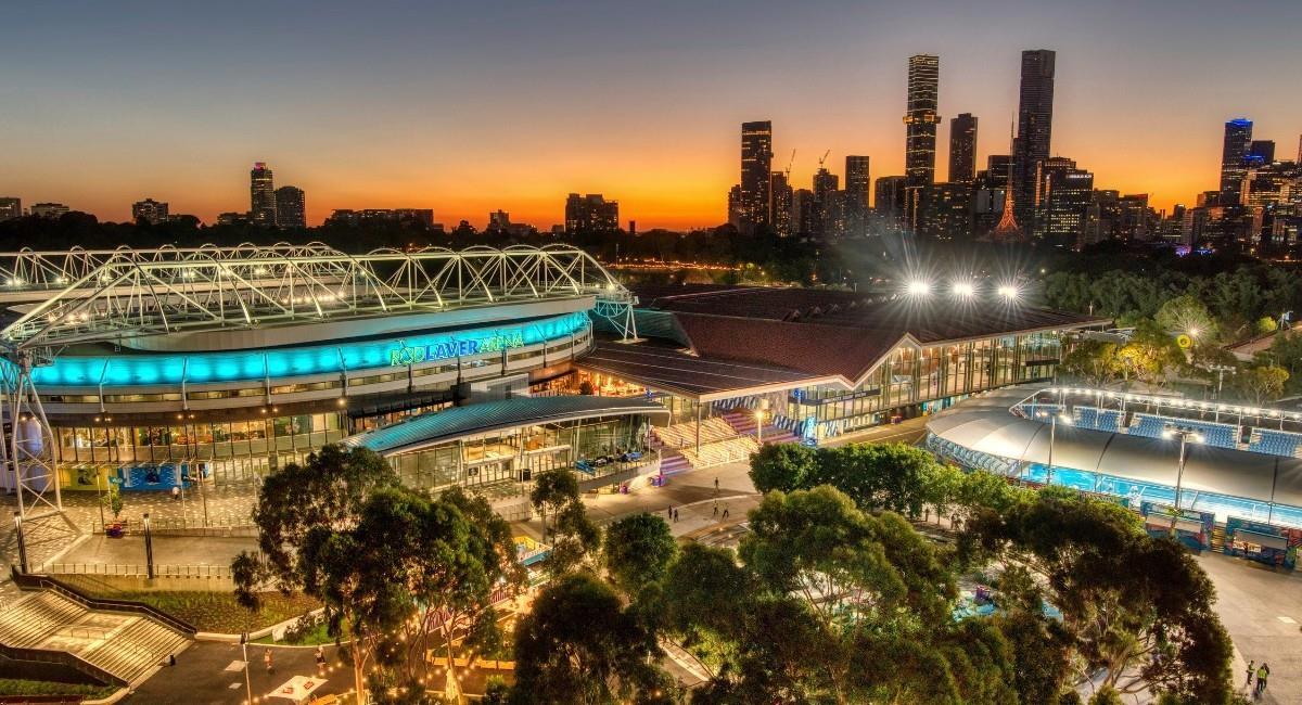 El Abierto de Australia 2021 se ha visto afectado por cuenta de la pandemia. Foto: Twitter @AustralianOpen