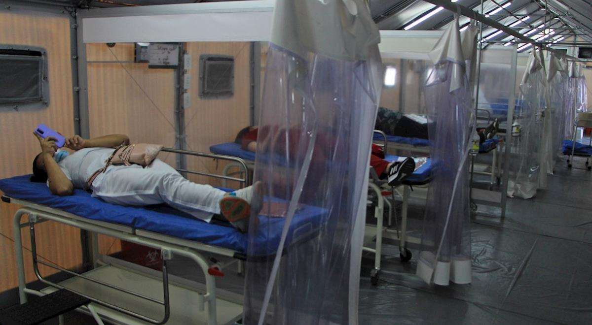 Colombia suena 3.401 nuevos contagios. Foto: EFE