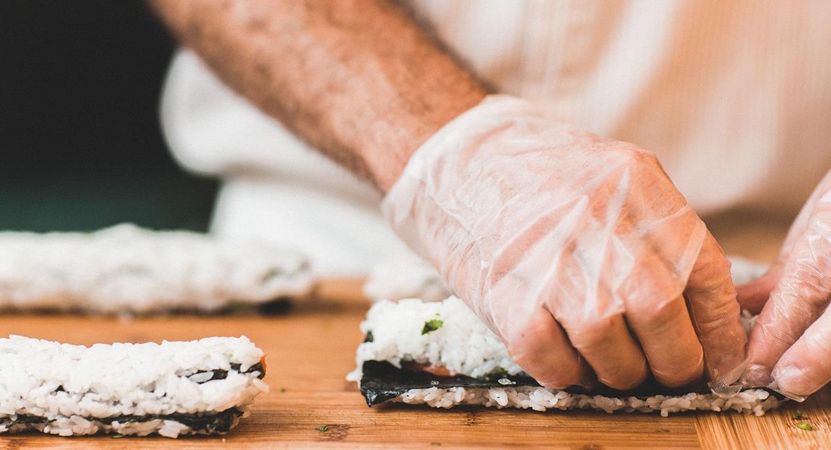 """Puedes pedir las opciones que tengan los restaurantes para la """"Semana del Sushi"""" por 13.000 pesos. Foto: Pixabay"""