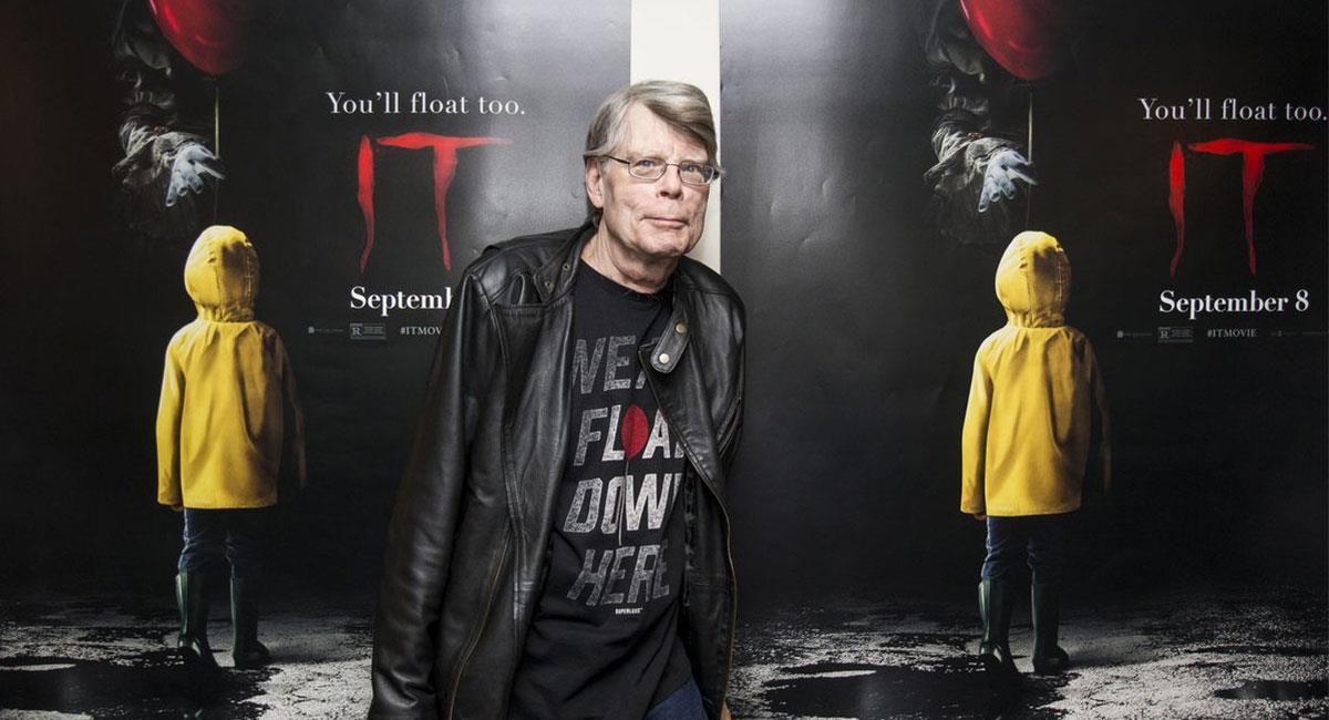 """Entre las obras más reconocidas de Stephen King se encuentra """"It"""". Foto: Twitter @StephenKing"""
