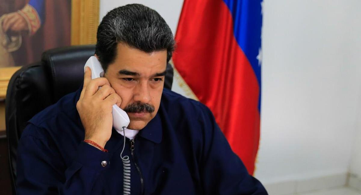 Comisionado para la Paz asegura que Maduro ampara al ELN y las FARC. Foto: Twitter @NicolasMaduro