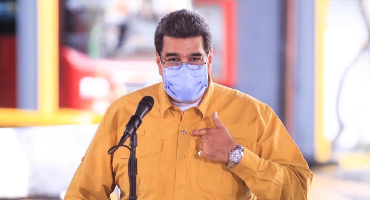 Adultos mayores no son tenidos en cuenta para la inmunización en Venezuela. Foto: Twitter @NicolasMaduro