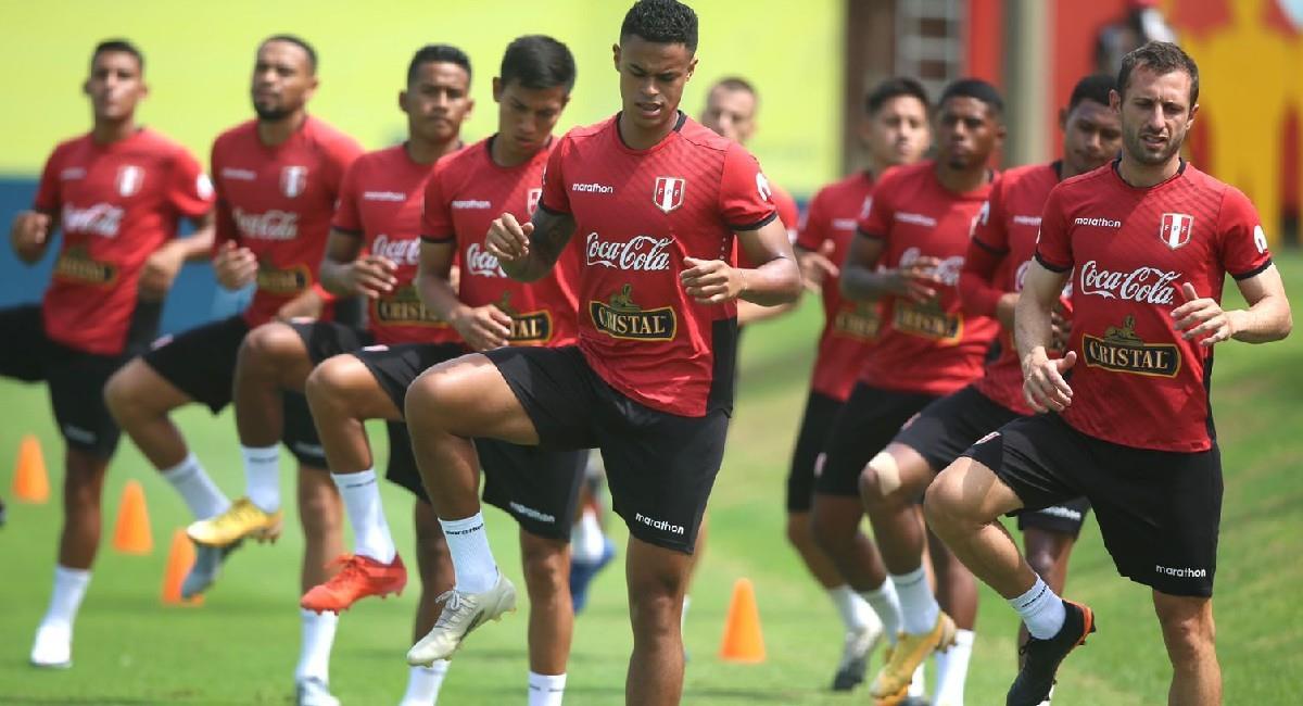 La Selección de Perú inicia un microciclo, tal como lo hizo la Selección Colombia. Foto: Twitter @SeleccionPeru