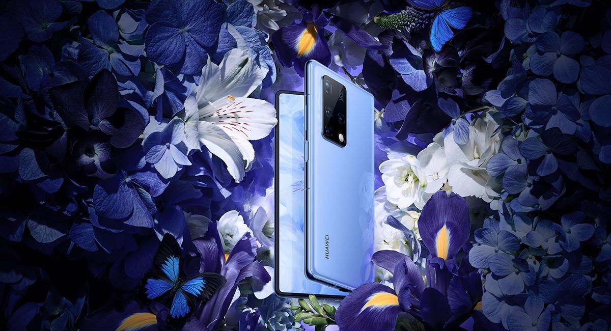 El nuevo 'smartphone' es plegable y tendrá un sistema de cuatro cámaras. Foto: Twitter @Huawei