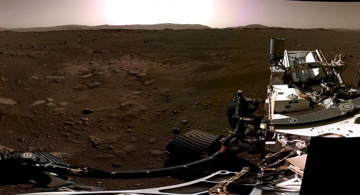 También se logró captar el sonido ambiente de Marte. Foto: Twitter @NASA