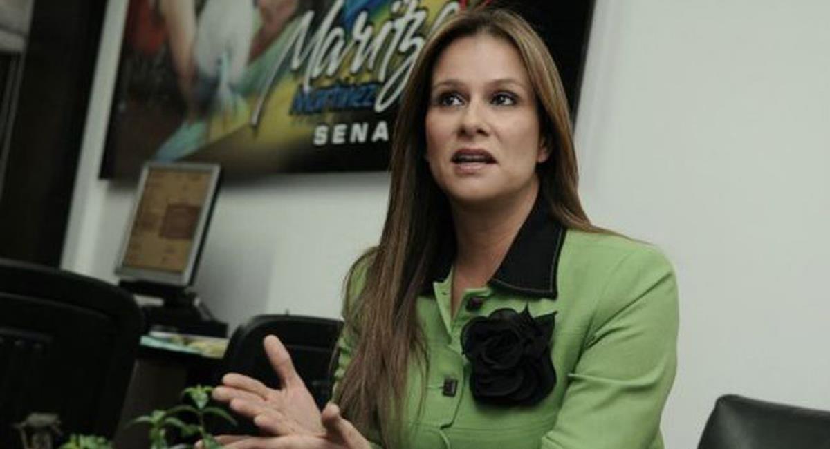 La senadora Maritza Rodríguez es la principal impulsora de la ley que pone en cintura a padres morosos en cuotas alimentarias de sus hijos. Foto: Twitter @claudiabaez