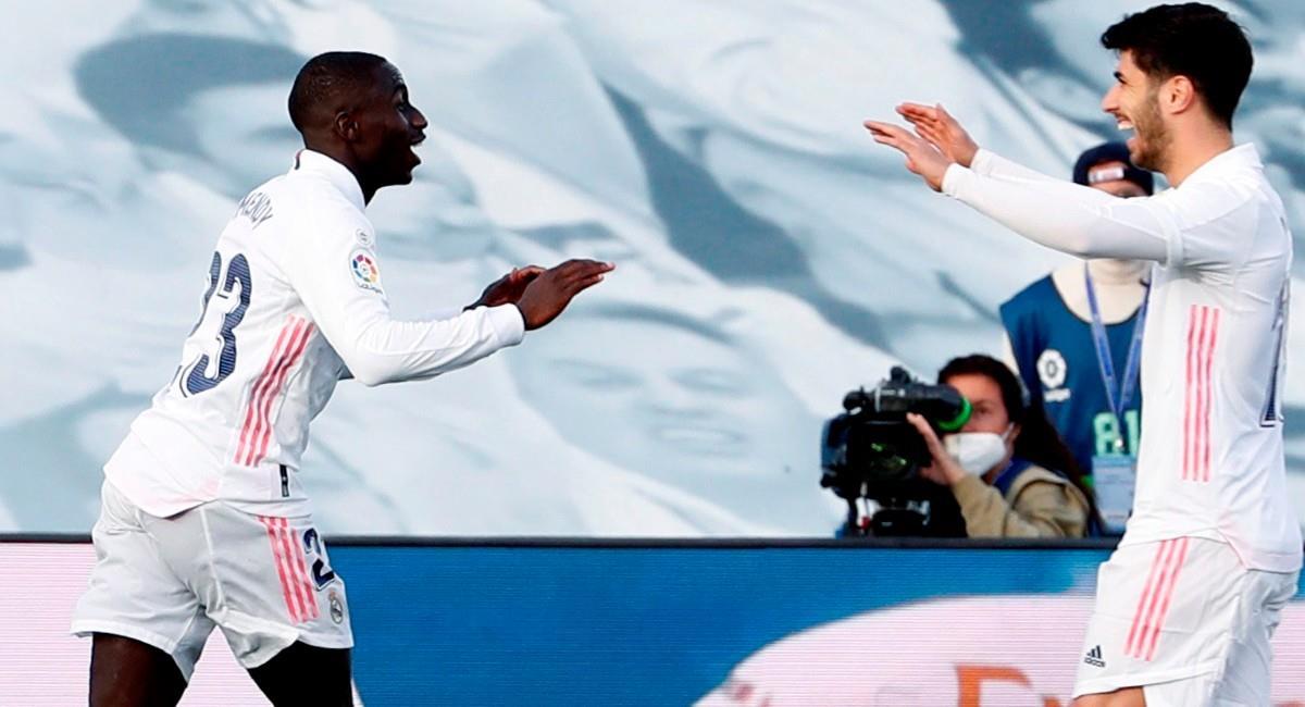 Real Madrid derrotó a Atalanta en Champions League. Foto: EFE