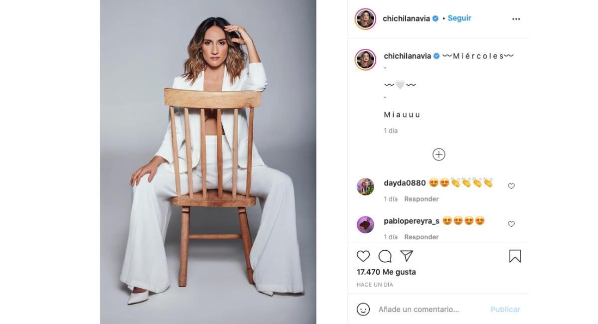 Captura de pantalla. Foto: Instagram @chichilanavia.