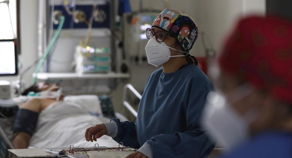 Colombia recibe 50 mil vacunas de Pfizer. Foto: EFE