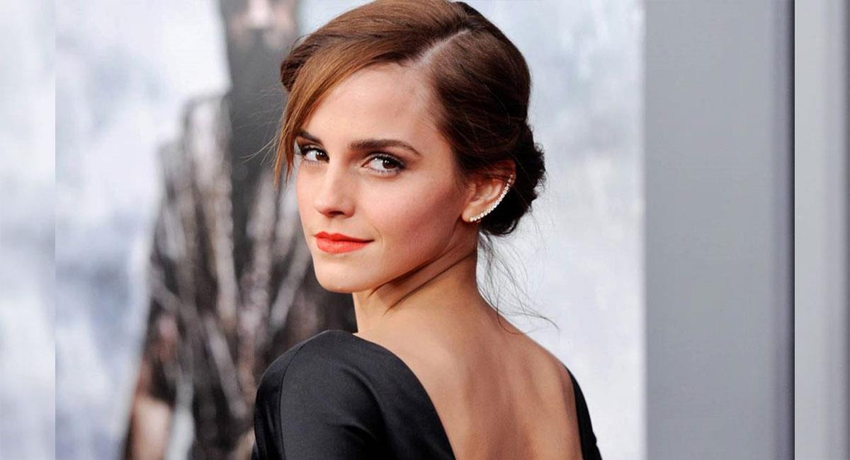"""Emma Watson es reconocida por su papel en la saga de """"Harry Potter"""". Foto: Twitter @EmmaWatson"""
