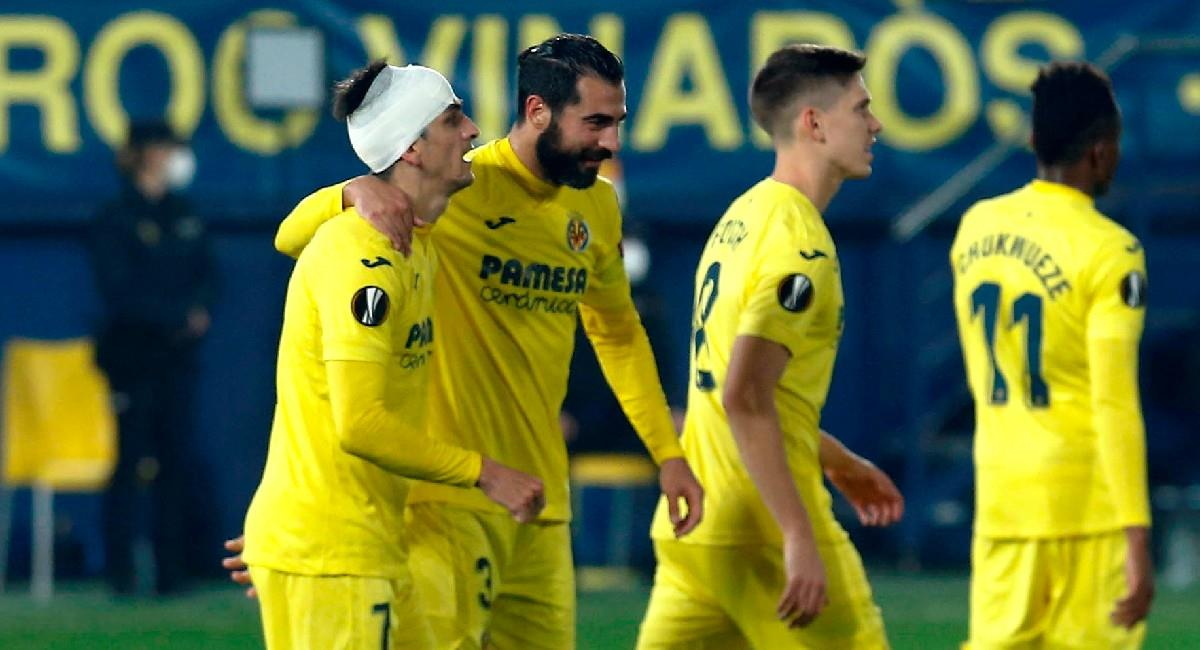 Villarreal está en octavos de final de Europa League. Foto: EFE