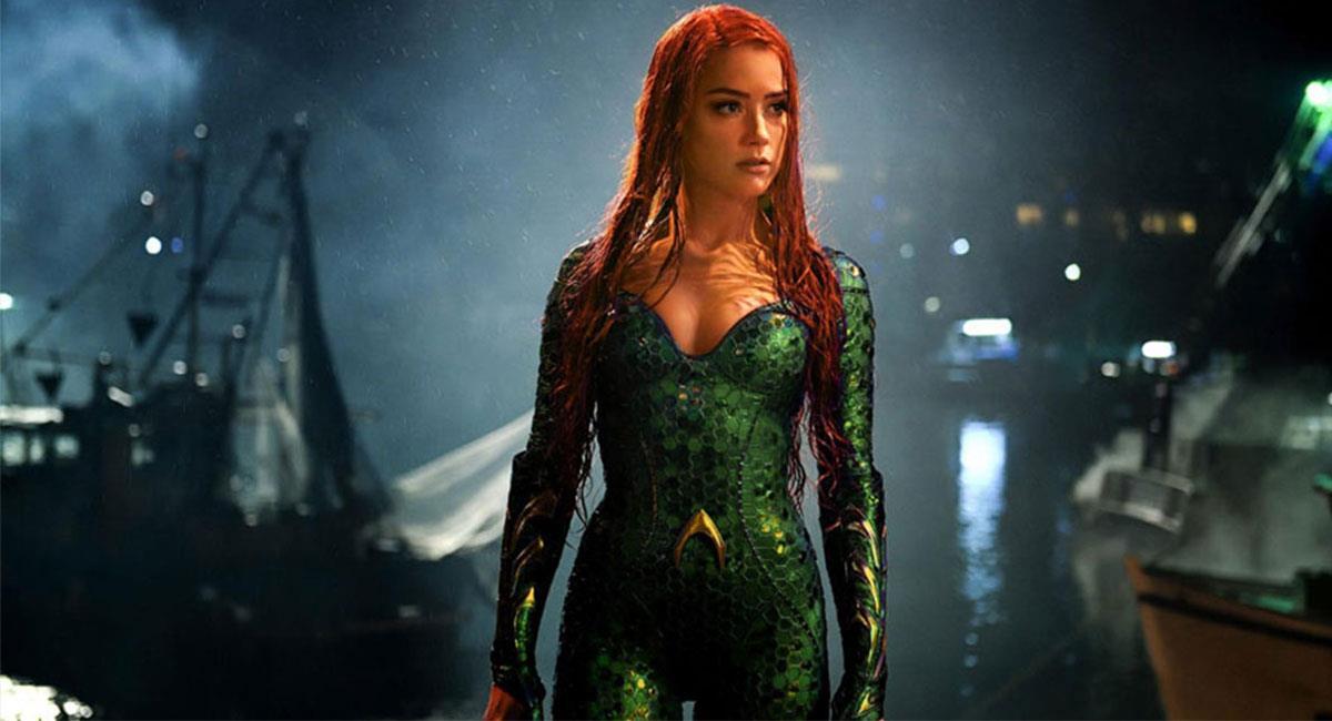 """Amber Heard ya no haría parte de """"Aquaman 2"""" ni de ningún proyecto de DC y Warner. Foto: Twitter @aquamanmovie"""