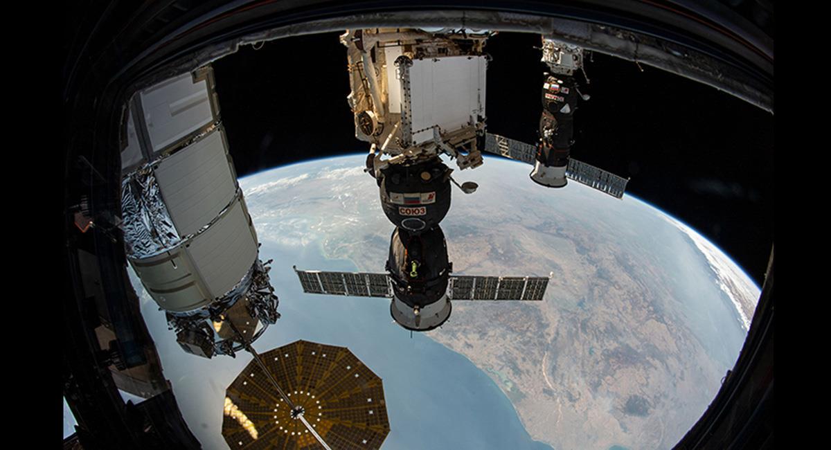 Los astronautas saldrán a labores de mantenimiento de unos paneles solares. Foto: Twitter @Space_Station