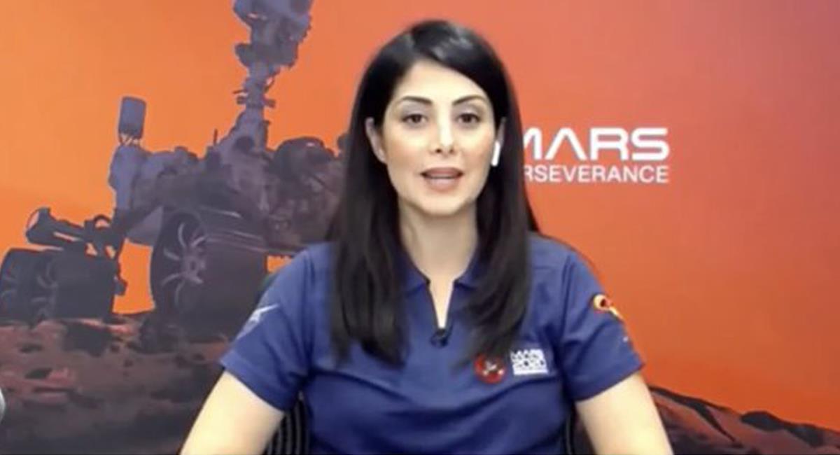 La ingeniera colombiana de la NASA, Diana Trujillo, es actualmente el personaje colombiano más buscado en Google. Foto: Twitter @Alepopma