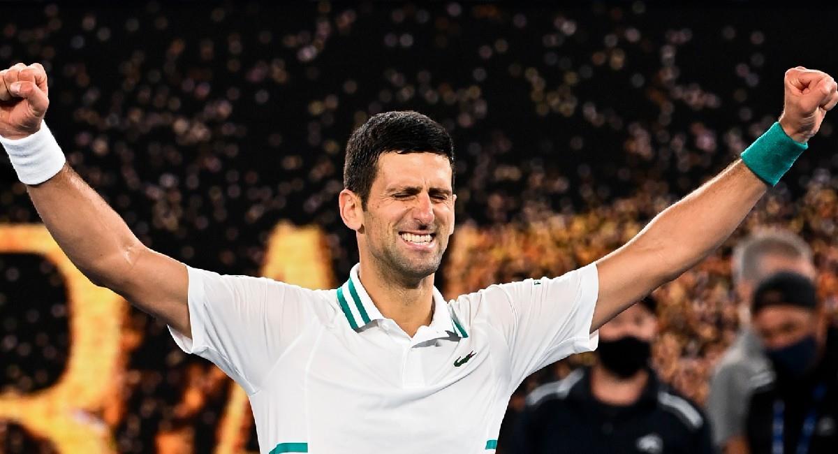 Novak Djokovic estará en el Miami Open 2021. Foto: EFE