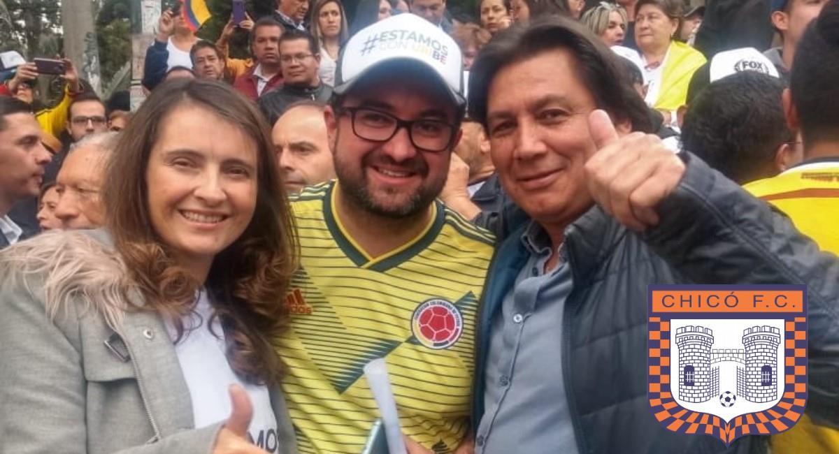 Foto: Twitter Prensa redes Eduardo Pimentel.