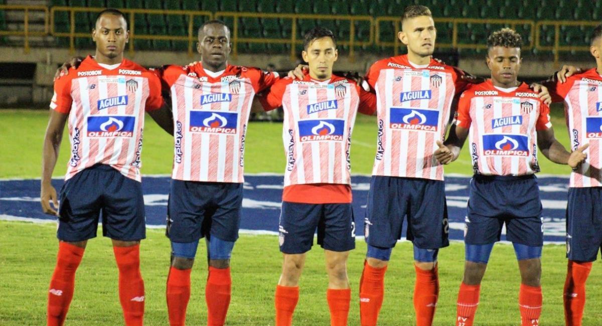 Sigue en vivo el juego Patriotas vs Junior. Foto: Twitter Prensa redes Junior de Barranquilla.