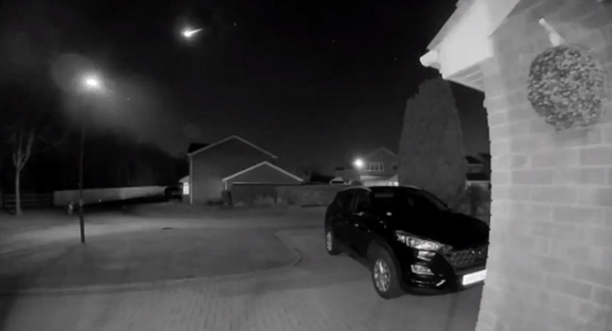 Más de 6 localidades pudieron visualizar el fenómeno, pasadas las 10 de la noche. Foto: Twitter @UKmeteorNetwork