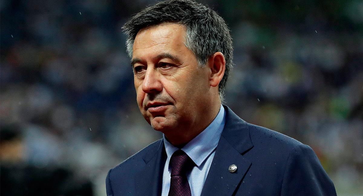 Josep María Bartomeu tuvo que renunciar a su cargo en el Barcelona por pedido de los socios. Foto: EFE