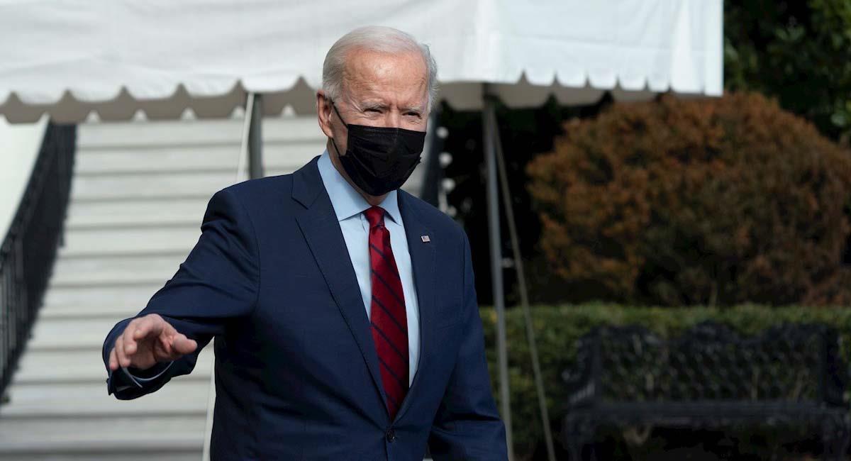Joe Biden, presidente de Estados Unidos. Foto: EFE