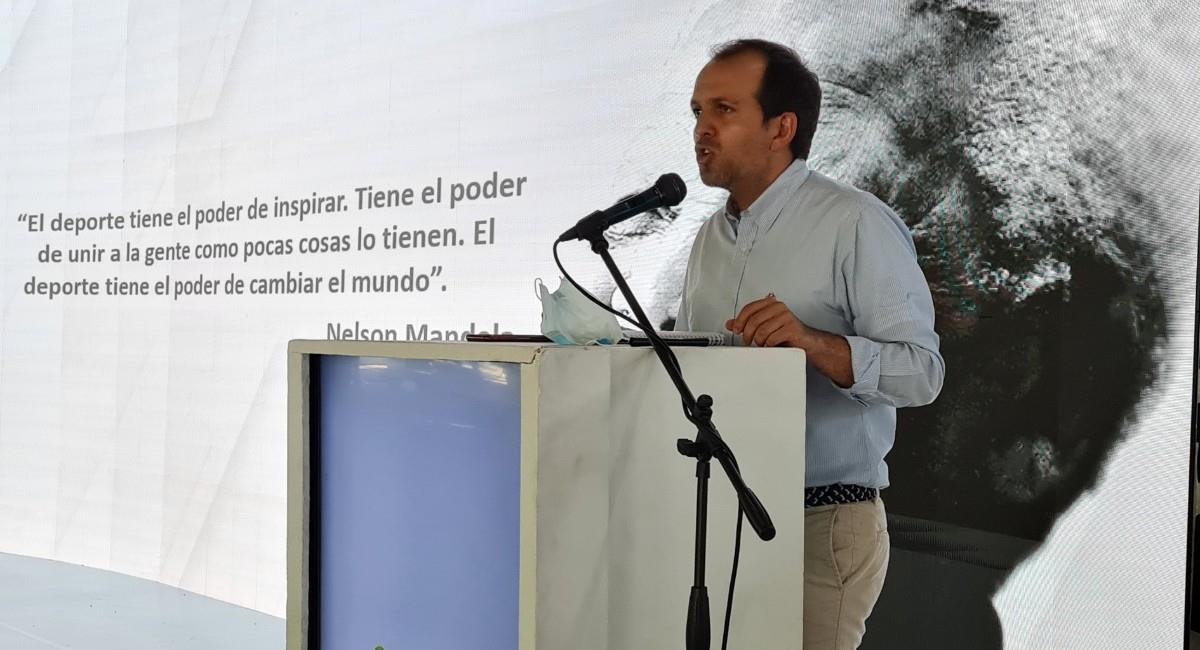 Ernesto Lucena, ministro del deporte. Foto: Twitter @MinDeporteCol