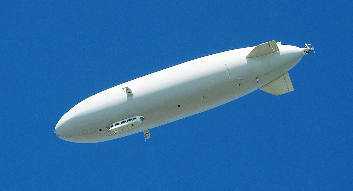 """Los dirigibles o """"zepelines"""" fueron protagonistas de bombardeos durante la Primera Guerra Mundial. Foto: Pixabay"""