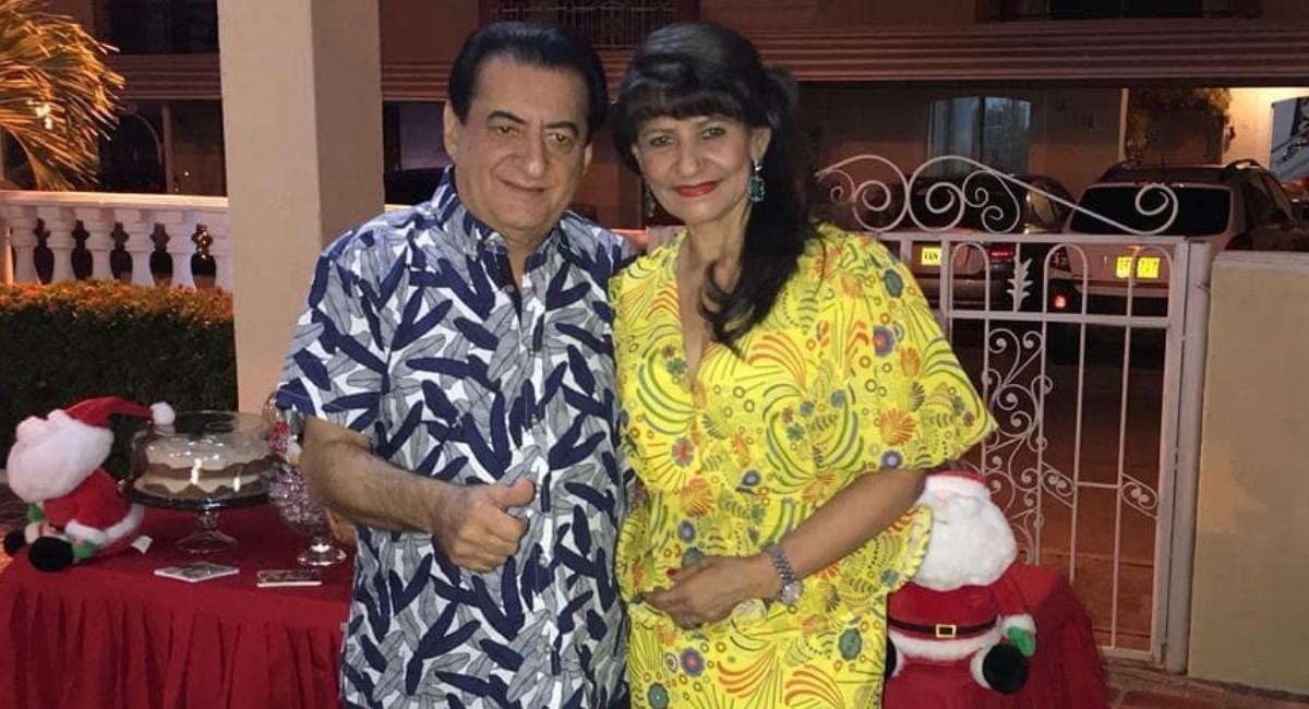 Nancy Zuleta y Jorge Oñate, 47 años de matrimonio. Foto: Instagram