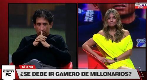 Andrea Guerrero Antonio Casale programa ESPN FC Pregunta Millonarios