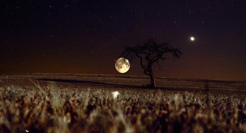 La conjunción de Júpiter y Mercurio con la Luna iniciará este fin de semana