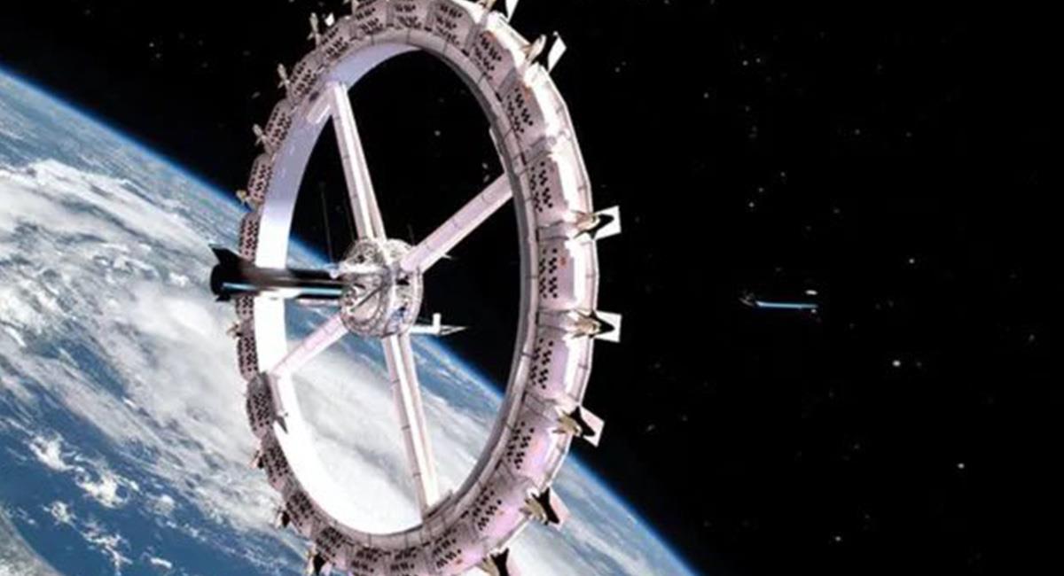 ¿Te imaginas lo que costaría alojarse en el Espacio?. Foto: Twitter @VoyagerClass