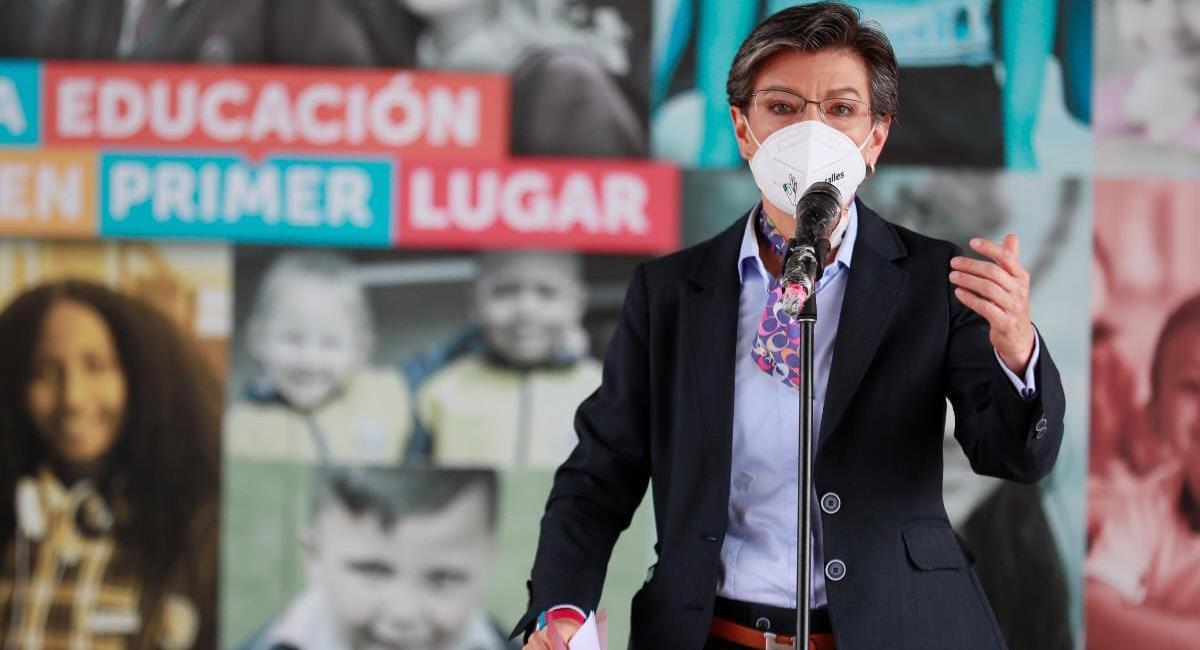 La alcaldesa de Bogotá, Claudia López propondrá un nuevo plan tributario para Bogotá en el Concejo de la ciudad. Foto: Twitter @ClaudiaLopez
