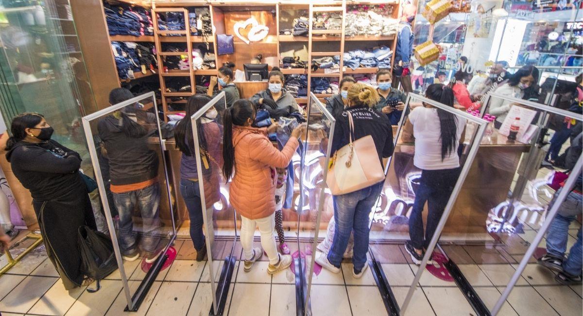 El Gran San es uno de los centros comerciales más importantes del centro de Bogotá. Foto: Twitter / @ El_GranSan