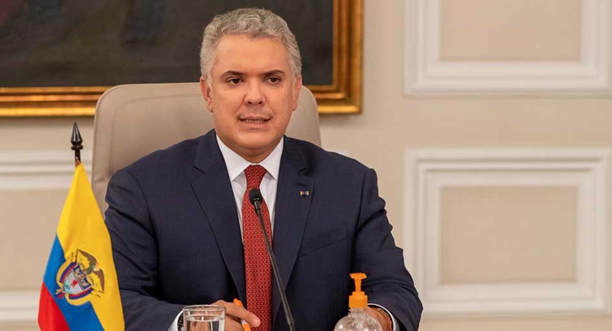 Duque confirmó la llegada de 2.3 millones de vacunas de Sinovac. Foto: Presidencia de Colombia