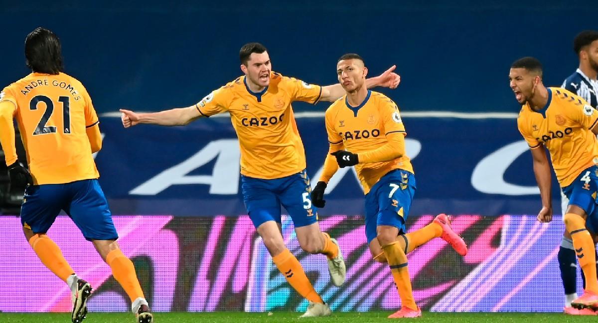 Everton sigue ganando sin tener a James Rodríguez en el campo de juego. Foto: EFE