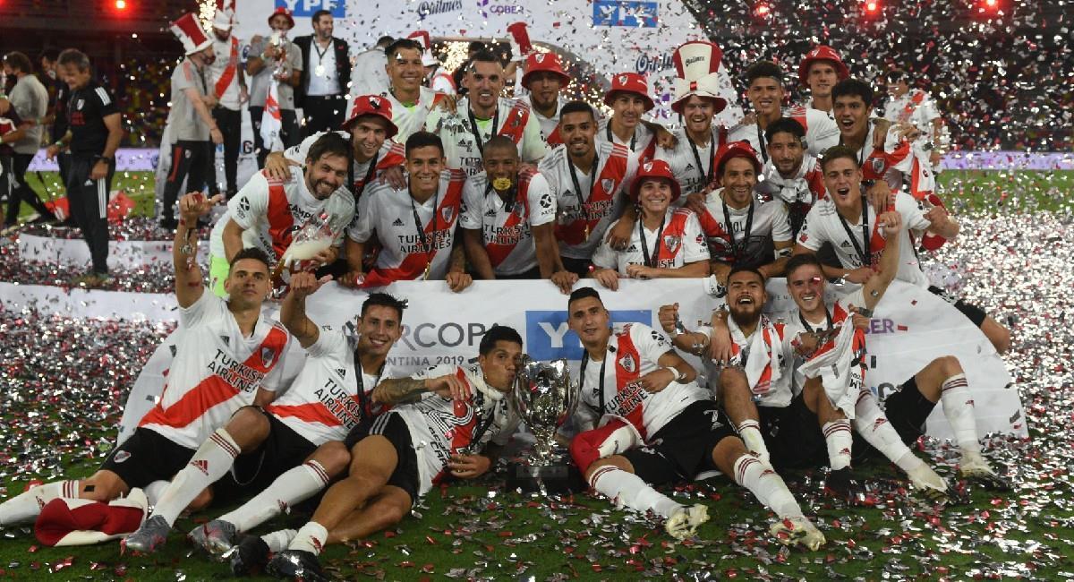 River Plate suma un nuevo título. Foto: Twitter @riverplate