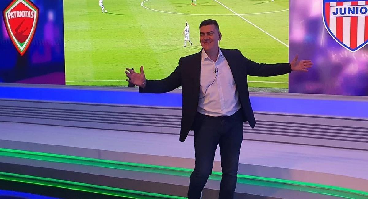 Eduardo Luis, narrador deportivo de Win Sports. Foto: Instagram @eduardoluisfut