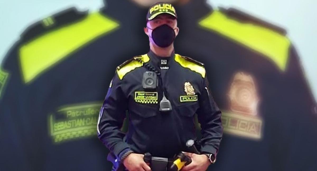 Así serían los nuevos uniformes de la Policía Nacional de Colombia. Foto: Twitter @carlosruedae