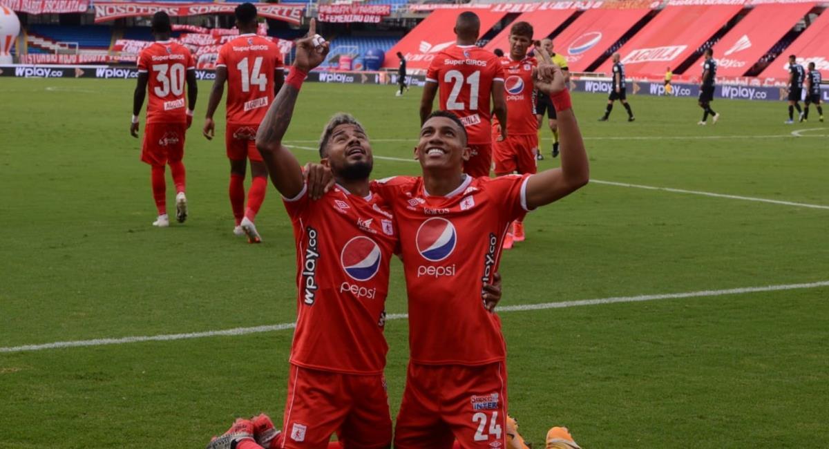 América venció al Pereira. Foto: Twitter Prensa redes América de Cali.