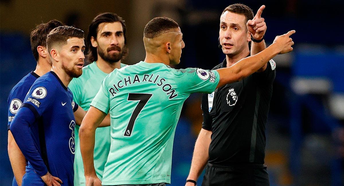 Everton no pudo conseguir un buen resultado ante Chelsea. Foto: EFE