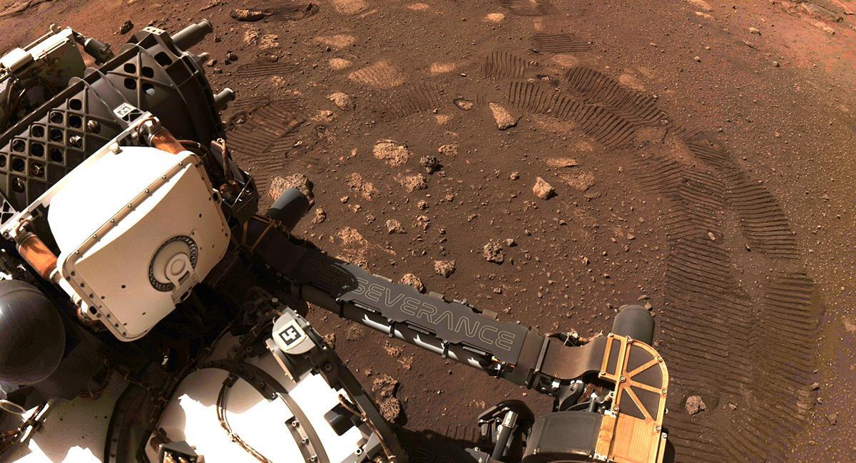 """'Perseverance' movió todas sus """"articulaciones"""" previo a su primer trayecto en Marte. Foto: Twitter @NASAPersevere"""