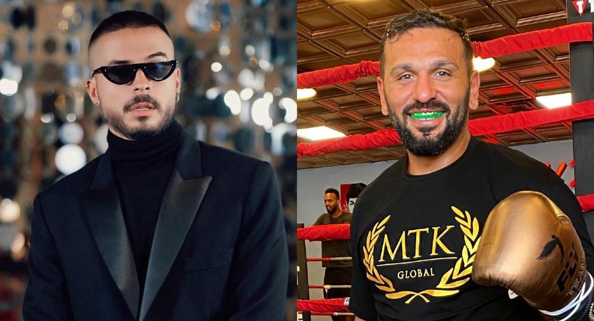 Reykon no sabía que se trataba del boxeador cuando lo enfrentó en una discoteca. Foto: Instagram