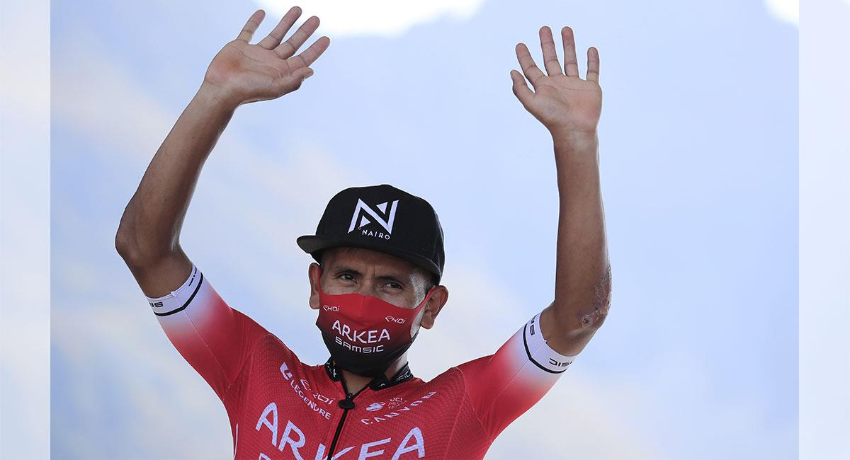Nairo Quintana será uno de los colombianos presentes en  la Tirreno-Adriático. Foto: EFE