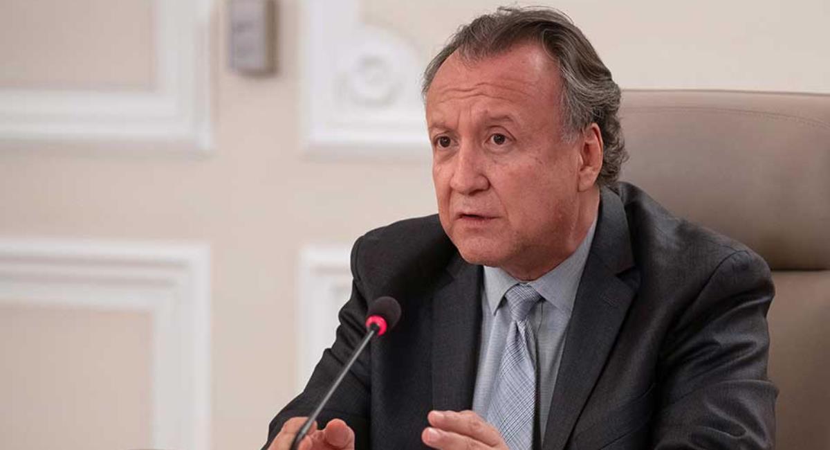 Luis Alexander Moscoso, Viceministro de Salud Pública y Prestación de Servicios. Foto: Ministerio de Salud