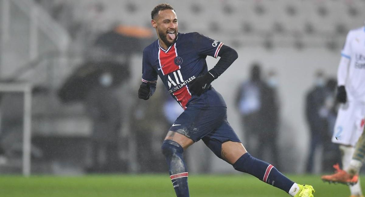 Neymar, jugador de París Saint Germain. Foto: Twitter @PSG_espanol