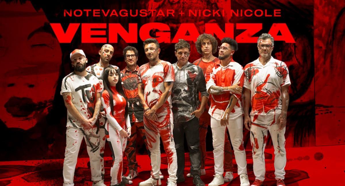 'Venganza' en YouTube ya cuenta con más de 1 millón de reproducciones. Foto: Instagram