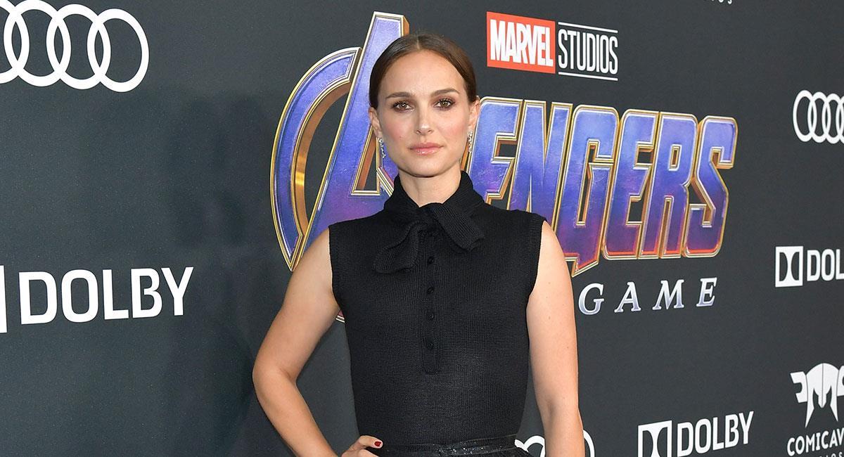 "Natalie Portman se encuentra rodando ""Thor Love and Thunder"" para Marvel Studios. Foto: Twitter @USATODAY"