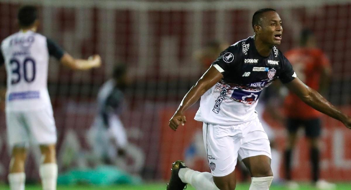 Junior derrotó como visitante a Caracas en Copa Conmebol Libertadores. Foto: EFE