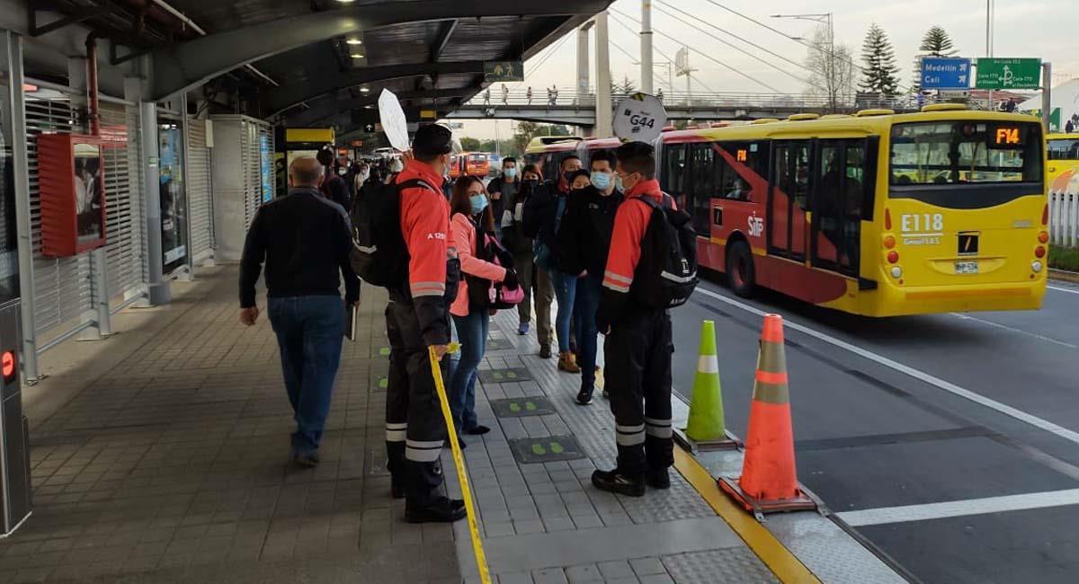 TransMilenio es el principal sistema de transporte público en Bogotá. Foto: Twitter / @TransMilenio