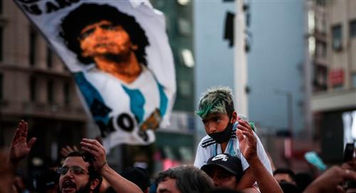 """""""Que Maradona descanse en paz"""" pide su abogado"""